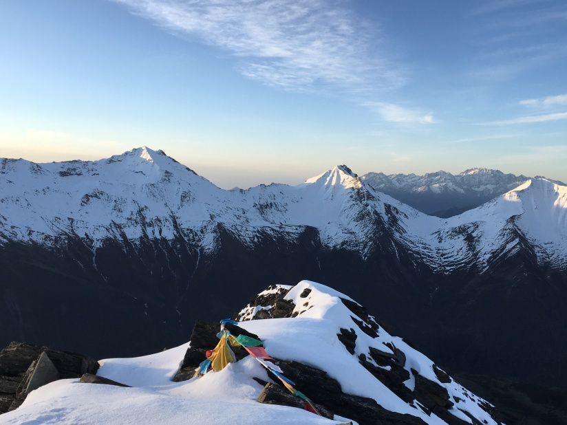 Successful Summit of Four Sisters Mountain Peak One