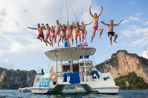 The Yacht Week Thailand December 09 2013. Photo: Beau Pilgrim
